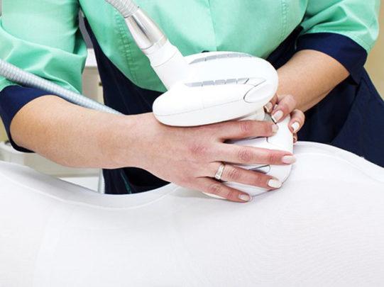 Ролико — вакуумный массаж Icoone на лицо